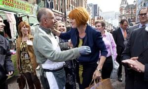 Mary Portas, linchpin of high-street policy, visits Croydon.
