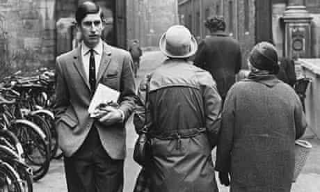 Student Prince Charles at Cambridge