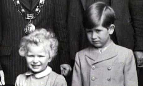 Charles aged six