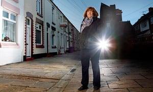 Frieda Kelly in the street where Ringo Starr grew up