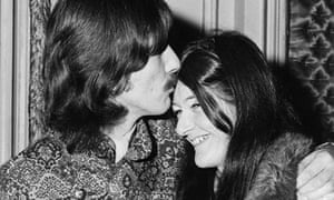 Freda Kelly with George Harrison in 1967.