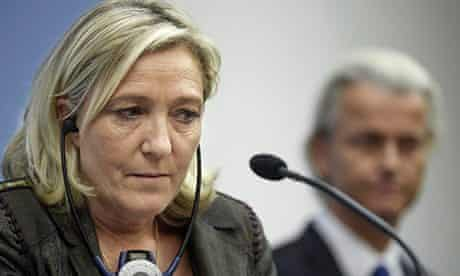 Far-right leaders Le Pen and Wilders discuss European alliance