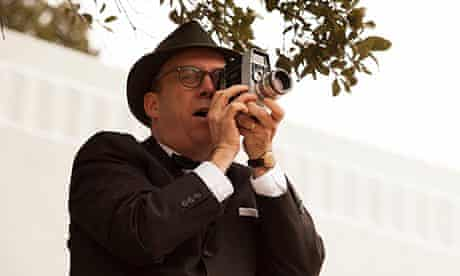Paul Giametti as Abraham Zapruder in Parkland.