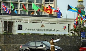 Commonwealth heads of government meeting in Colombo, Sri Lanka
