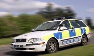 Surrey police car