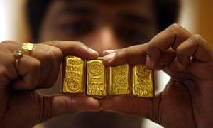 Indian swami's dream inspires hunt for buried gold but yields bricks