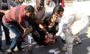 Demonstrators Clash With Militiamen In Tripoli