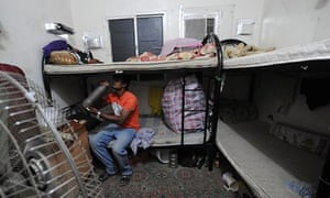 A migrant workers' labour camp, Qatar.