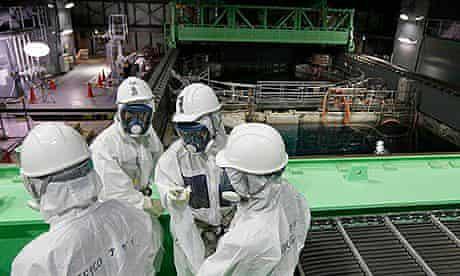 Fukushima spent fuel rod removal