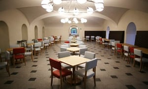The newly designed cafe at Tate Britain.