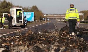 M5 crash: firework smoke led to 'impenetrable smog' | UK