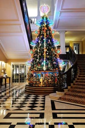 Claridges christmas tree