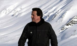 David Cameron in the Arctic