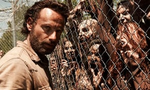 The Walking Dead: Andrew Lincoln as Rick Grimes