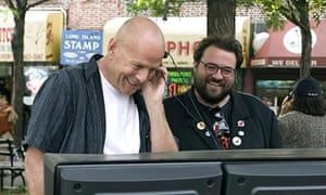Bruce Willis and Kevin Smith.