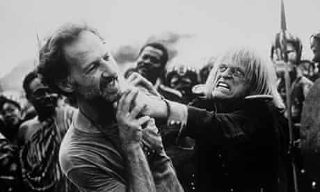 Werner Herzog and Klaus Kinski.