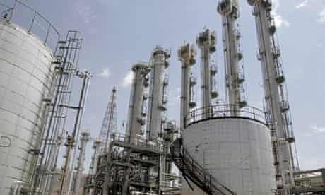 Iran's heavy water plant in Arak