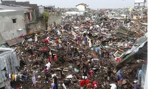 A general view of the aftermath of Haiyan Typhoon: Tacloban City, Leyte Province, the Philippines