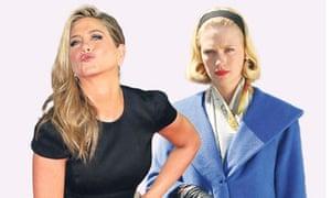 Jennifer Aniston and Betty Draper