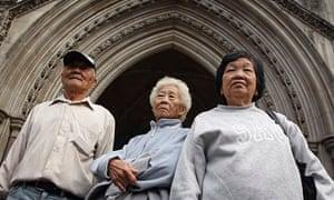 Relatives of Batang Kali massacre victims