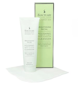 Sanctuary Polishing Hot Cloth Cleanser