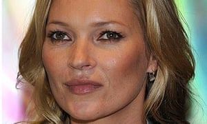 Kate Moss British fashion awards special recognition