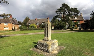 Village green at Lyddington, Rutland