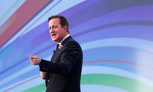 David Cameron speaks at the CBI annual conference