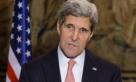 US Secretary of State John Kerry visits Poland