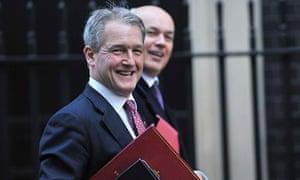 Environment secretary Owen Paterson arrives at No10 Downing Street