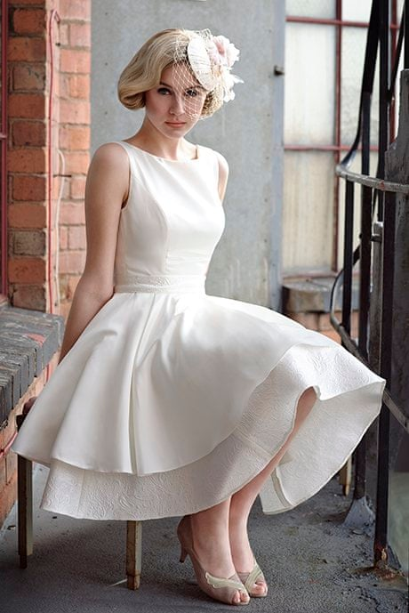 70915836d467 Should I wear a short dress on my wedding day? | Fashion | The Guardian