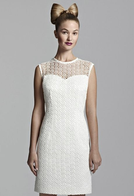 40d5da05b224 Should I wear a short dress on my wedding day?   Fashion   The Guardian