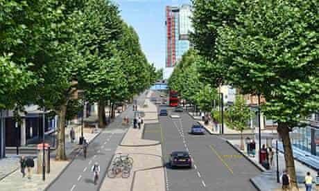 cycle superhighway london