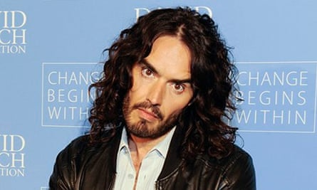 Russell Brand … wrongfooted the media.