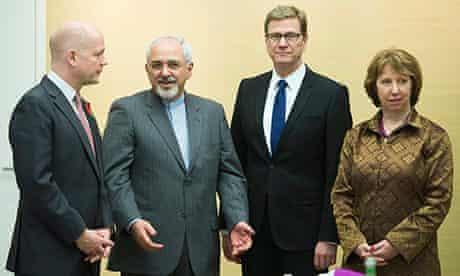 Geneva talks: Hague, Zarif, Westerwelle, Ashton