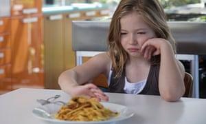 Child refusing food