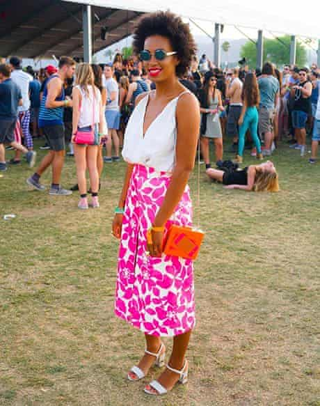 Solange Knowles at the Coachella festival