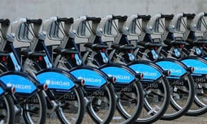 'Boris bikes' in London
