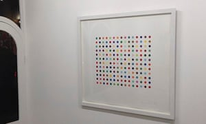 Pyronin Y - one of the two Damien Hirst art works that have been stolen