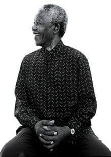 Nelson Mandela by Jillian Edelstein