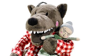 The Ikea toy Wolf