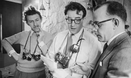 Peter Sellers at home in London
