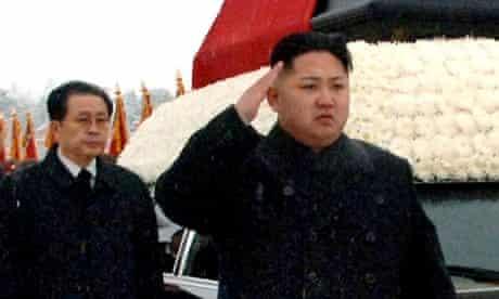 Jang Song-thaek and and Kim Jong-un