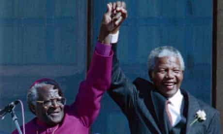 Desmond Tutu excluded from Mandela funeral
