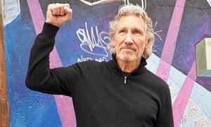 Roger Waters at the Eastside Gallery in Berlin, Germany - 04 Sep 2013