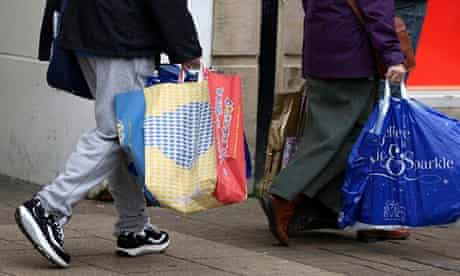 For November alone, footfall was down 2.9% on a year ago across all shop types.