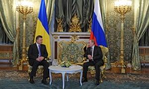Russia and Ukraine presidents