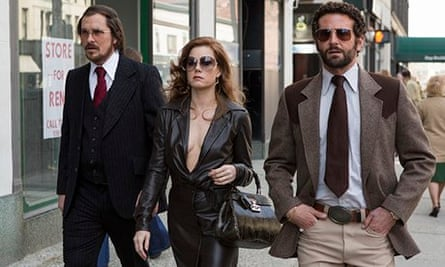 American Hustle Review Drama Films The Guardian
