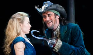 Wendy and Peter Pan: Fiona Button as Wendy and Guy Henry as Hook