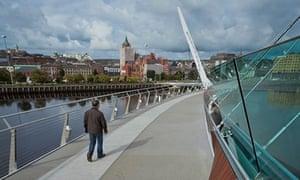 Peace bridge, Derry